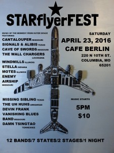 Starflyer Fest - April 23, 2016 - Columbia, MO