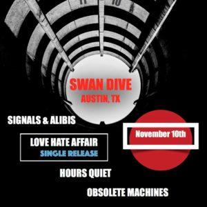 November 10, 2018 - Swan Dive (Austin, TX)